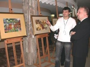 """Авторская выставка в Галерии """"Круг"""", при поддержке Воеводы Свентокшиского"""