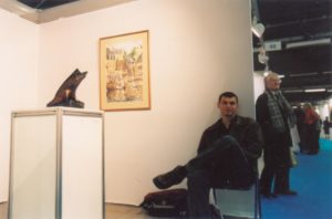 Участие в Международном Художественном Салоне в Париже, Франция