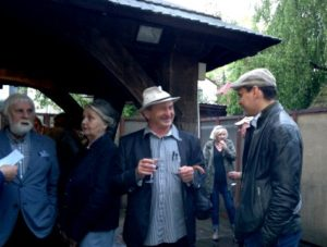 Открытие выставки Союза Акварелистов Польши в галереи Государственного Музея Польши в Казимеже Дольном, Польша