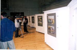Авторская выставка А. Ясин, Польша