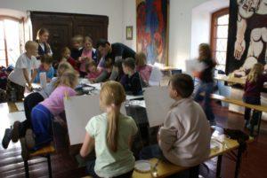 Авторские курсы рисунка и живописи в Шидлове, Польша