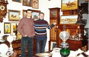 Встреча в галереи с польским актером Артуром Змиевским